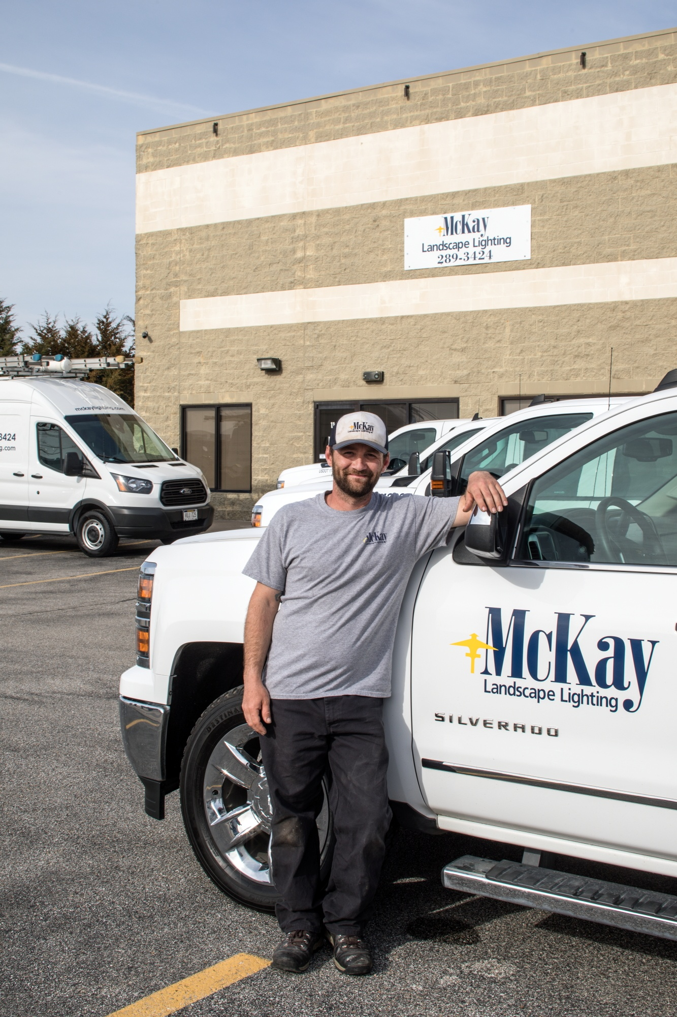 Meet a new member of the McKay team, Nick. Click to learn more about him and his role as an outdoor lighting installer. | McKay Landscape Lighting, Omaha Nebraska