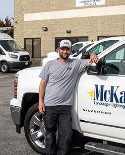Landscape Lighting Install Technician Omaha Nebraska