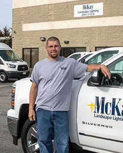 Outdoor Lighting Installer & Crew Leader | McKay Landscape Lighting