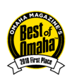 2018 best of omaha, best outdoor lighting company - first place mckay landscape lighting, nebraska