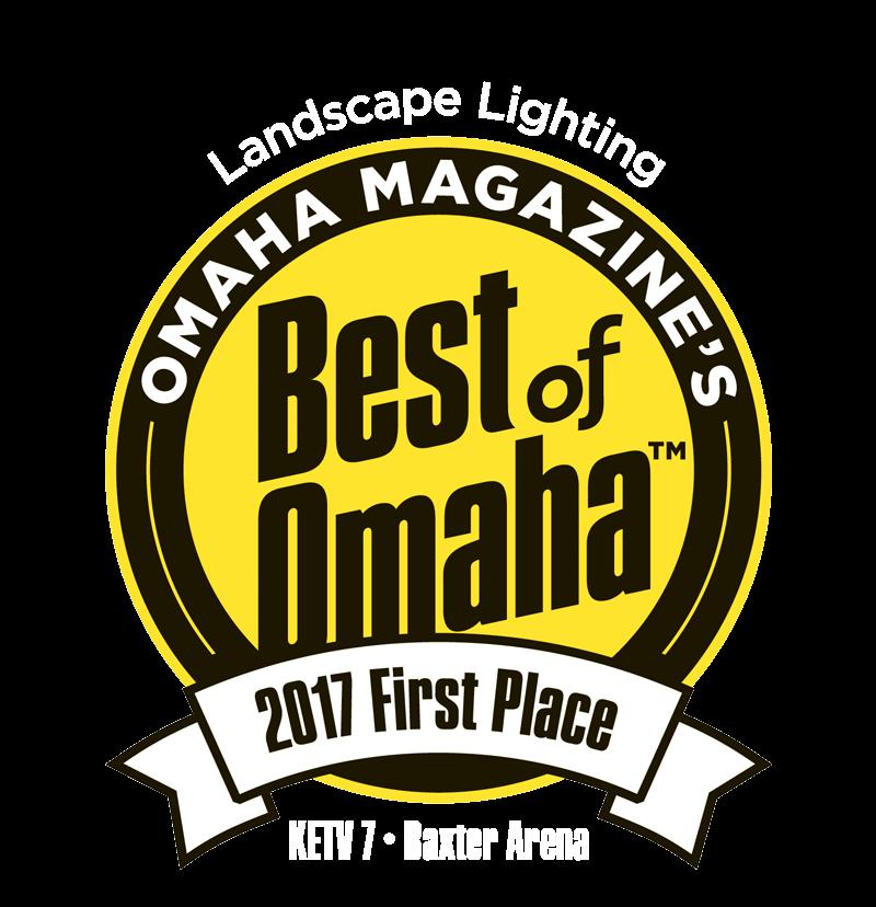 Best of Omaha Landscape Lighting Company