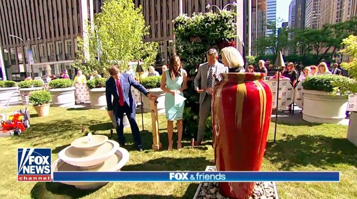 If you caught FOX & Friends Saturday morning, you might have heard McKay Landscape Lighting's name mentioned. Click to watch the clip and learn more about landscape enhancements to make your outdoor areas shine.. | McKay Landscape Lighting Omaha, Nebraska