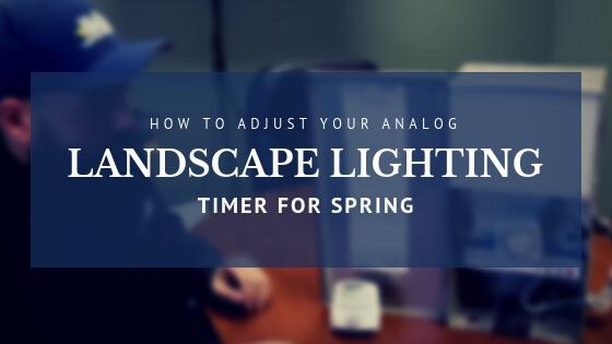 How to Reset Analog Landscape Lighting Timer for SPRING - McKay Lighting Omaha Nebraska