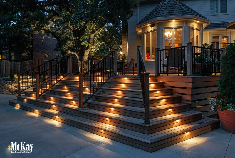 Deck Stairs and Step Lighting