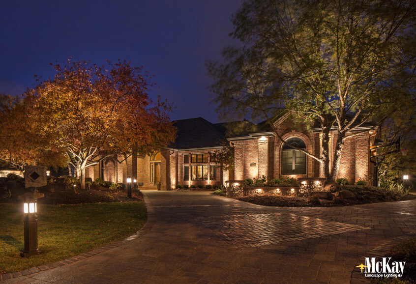 driveway lighting ideas for safety and curb appeal
