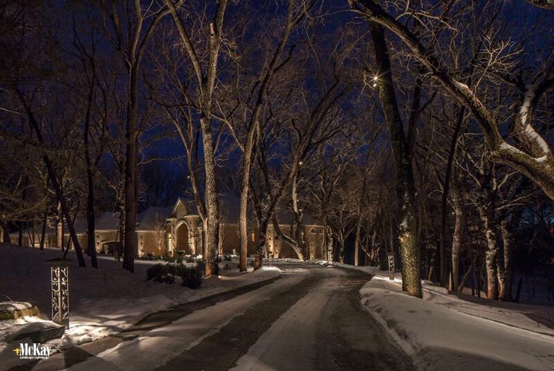 Driveway Lighting: Using Bollards and Down Lighting