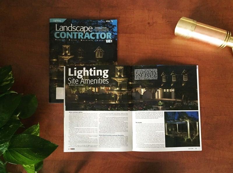 Lighting Site Amenities - Landscape Contractor Magazine April McKay Landscape Lighting Omaha NE