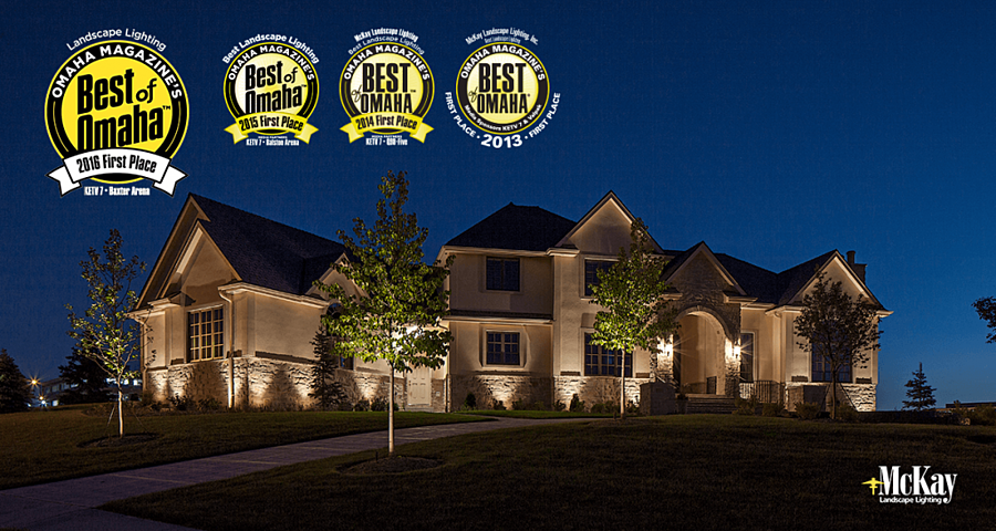 mckay landscape lighting receives first place in best of omaha 2016