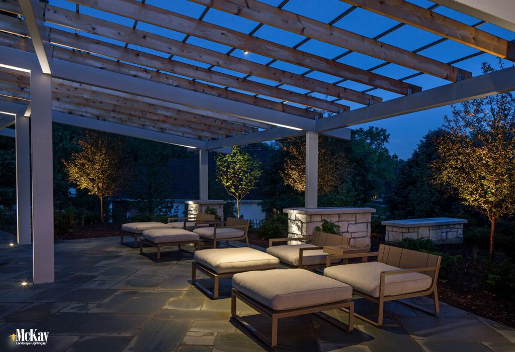 A professional landscape lighting designer will work with you and your architect, builder, or contractor early on and can head off lighting design misses in your overall plan. Click to read more... | McKay Landscape Lighting Omaha, Nebraska