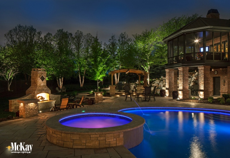 Swimming Pool Lights Beauty Amp Safety After Sunset