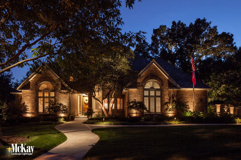Light the Front Entry to Boost Nighttime Curb Appeal