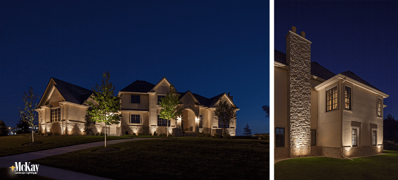 Light dark areas outside of the home to boost security