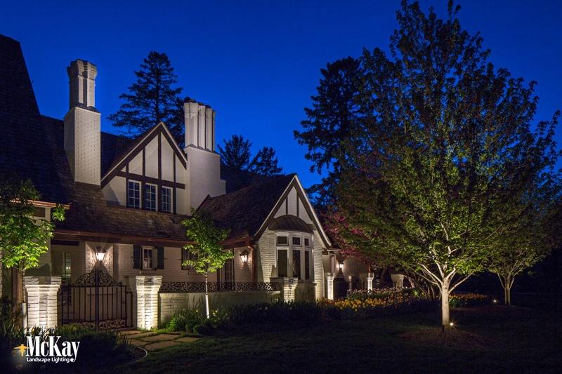 outdoor security lighting ideas omaha nebraska - McKay Landscape Lighting