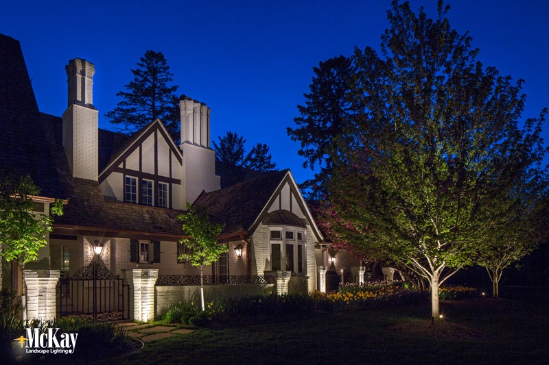Create Nighttime Curb Appeal By Highlight Architectural Features