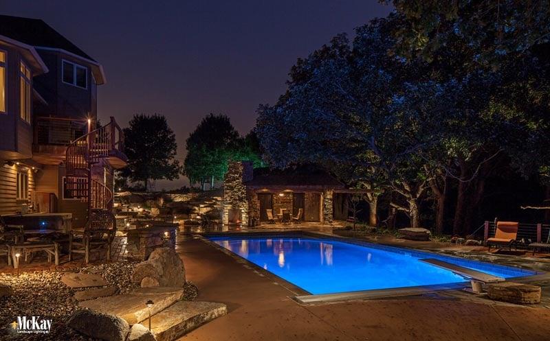 Professional Landscape Lighting Omaha Nebraska