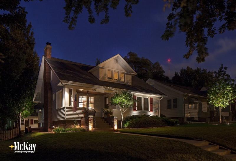 Residential Security Lighting Omaha Nebraska