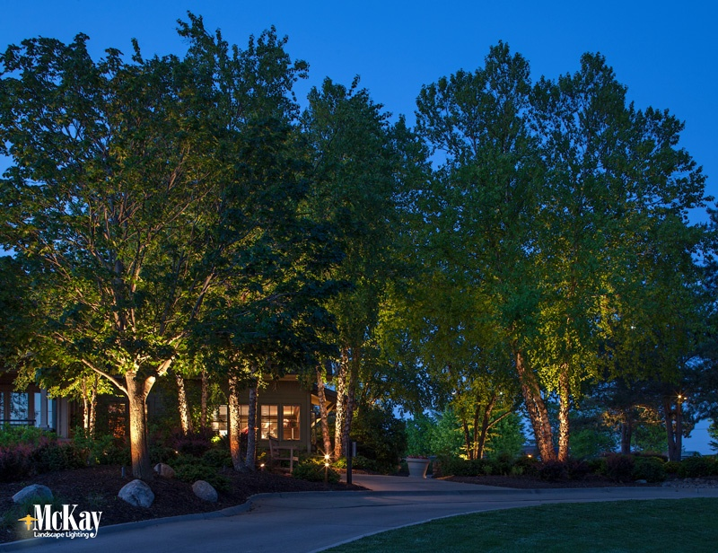 Golf Course Clubhouse Outdoor Lighting