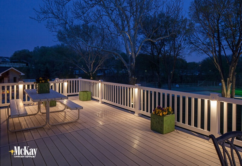Deck Lighting Omaha Ne Mckay Landscape Lighting 01