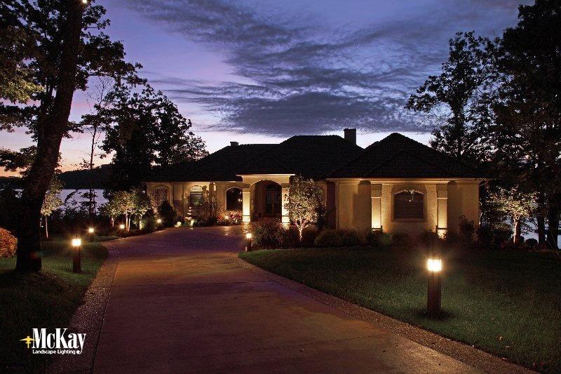 Bollard Driveway Lighting