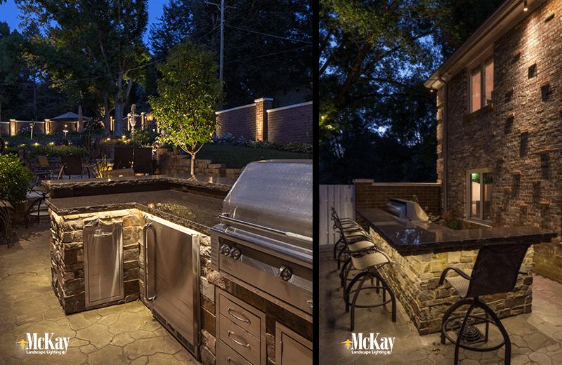 lighting for outdoor kitchen outdoor lighting ideas
