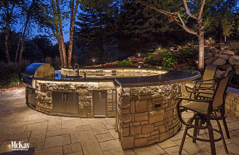 Outdoor Kitchen Amp Grill Lighting Ideas