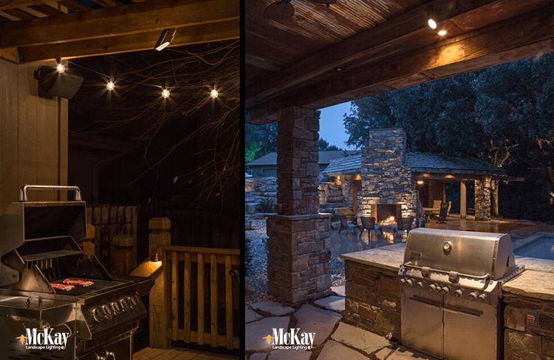 Outdoor grill lighting kichler black mr 11 outdoor gooseneck outdoor kitchen grill lighting ideas aloadofball Gallery