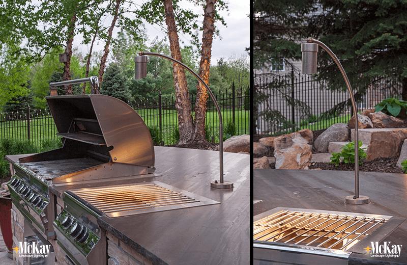 outdoor kitchen lighting. Outdoor Kitchen Grill Lighting Ideas