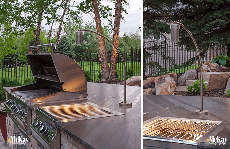 Exceptional Outdoor Kitchen Grill Lighting Ideas