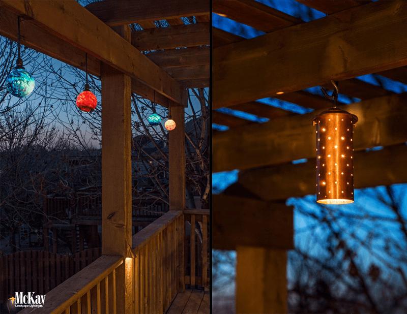 Two Unique Deck Lighting Ideas Omaha Nebraska & Outdoor Deck Lighting: Unique Deck Lighting Ideas