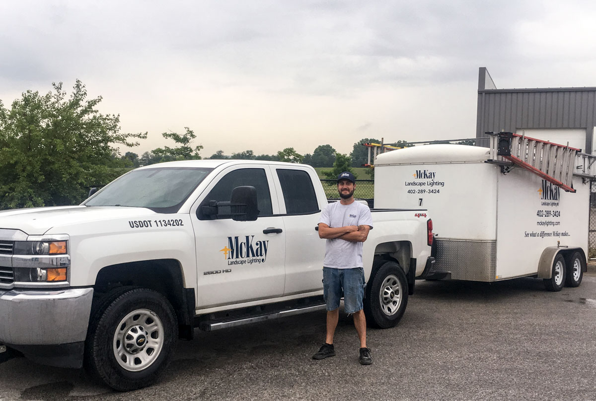 Outdoor Landscape Lighting Maintenance and Repair Omaha Nebraska