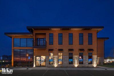 Commercial Landscape Lighting Lincoln Nebraska