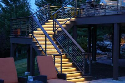 Unique Deck & Stair Lighting Omaha NE