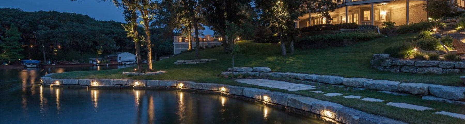 Lake House Outdoor Lighting