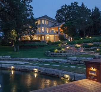Custom Landscape Lighting Design Omaha NE