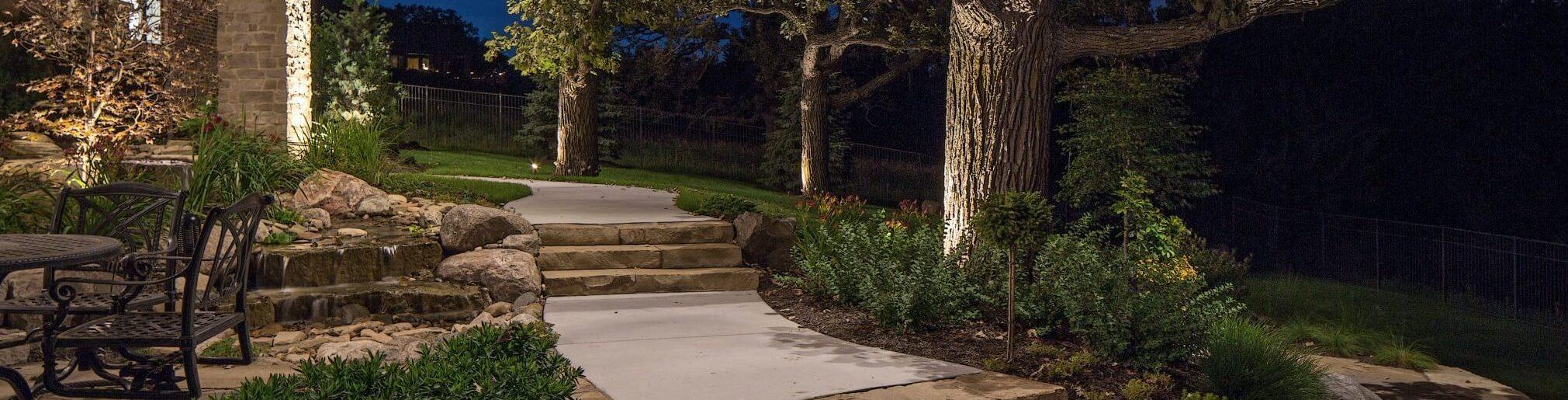 Residential Landscape Lighting Omaha NE
