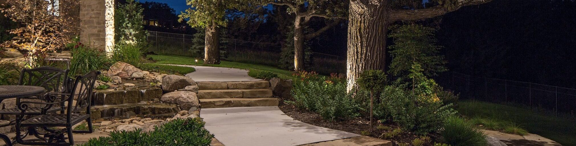 Residential Landscape Lighting Omaha NE