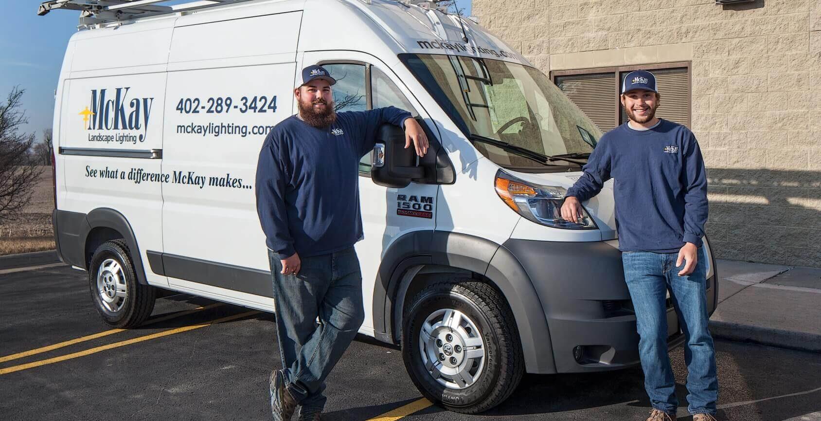 Outdoor lighting maintenance repair Omaha Nebrasaka