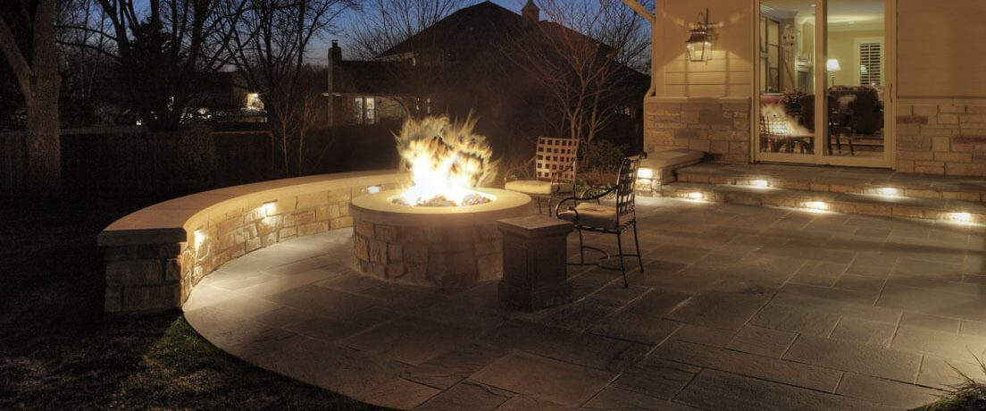 Traditional Stone Patio