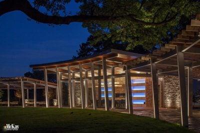 Pavilion Lighting Omaha Nebraska