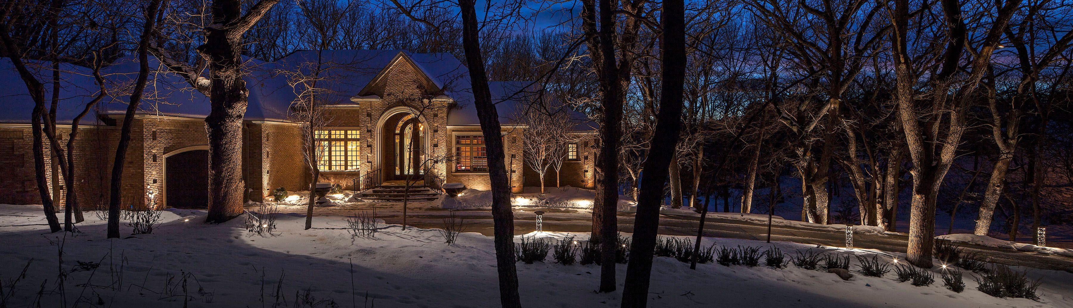 Landscape Lighting Elkhorn Nebraska