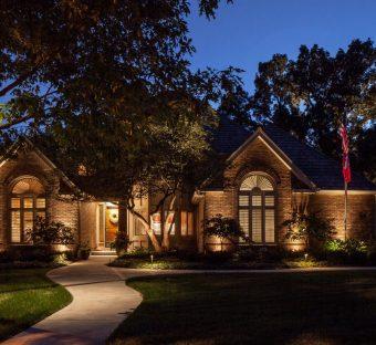 Residential Landscape Lighting Omaha