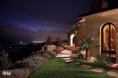 Landscape Lighting Santa Barbra California