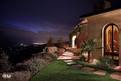 Landscape Lighting Santa Barbra California