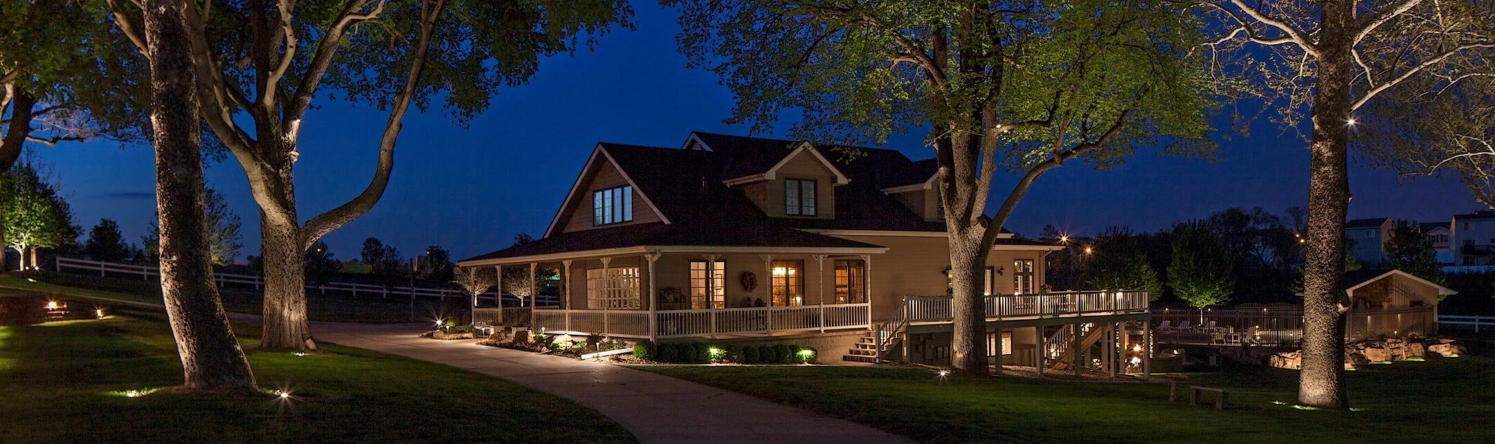 Professional Outdoor Lighting Services Omaha NE