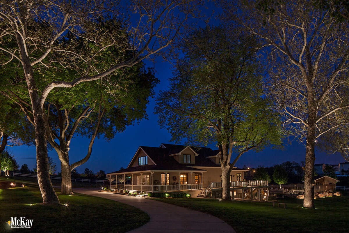Omaha Residential Outdoor Lighting