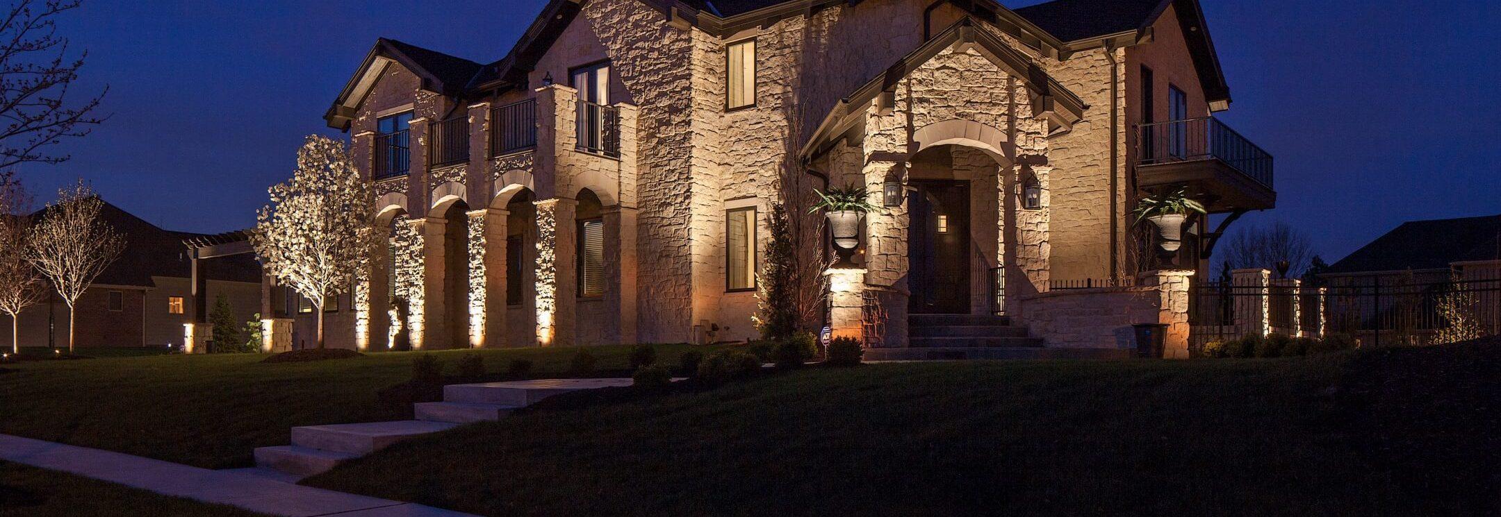 Landscape Lighting Lincoln Nebraska