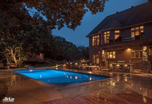Outdoor & Landscape Lighting Design Omaha Nebraska | South Dakota | Iowa