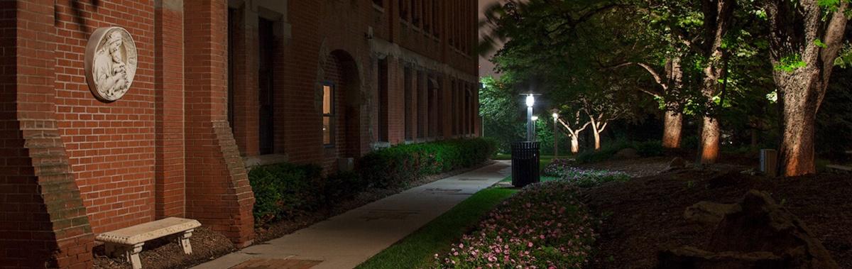 Commercial Outdoor Lighting Omaha