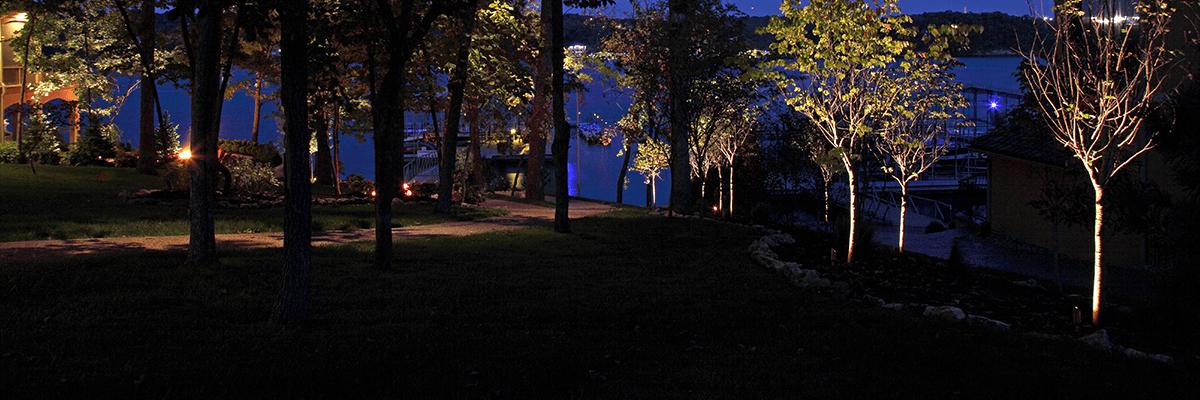 Lake Home Landscape Lighting Lake of the Ozarks