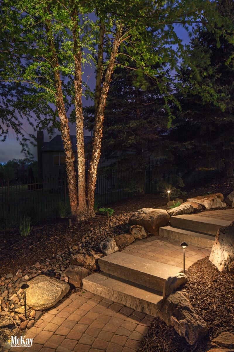 Path Lighting Omaha NE McKay Landscape Lighting LE21